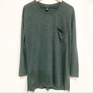 Roots Long T-shirt green size XL